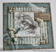 {Re}kreasjoner: Baby Boy card - Kort og Godt products