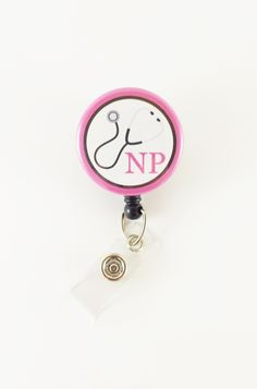 Nurse Practitioner - Badge Reel - Retractable ID Badge - Name Badge Holder - NP Badge Clip - Hospital ID Badge - Medical Badge Pull by SimplyReelDesigns on Etsy Id Badge Clip, Badge Reel, Physician Assistant, Medical Assistant, Rn Nurse, Nurse Badge, Id Badge Holders, Id Holder, Retractable Id Badge Holder
