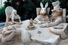 Песчаные скульптуры, Israel, 2013.