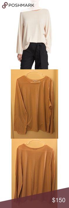 NWOT Helmut Lang Capped Long Sleeve Shirt Helmut Lang Capped Long Sleeve shirt in Nude. Helmut Lang Tops Tees - Long Sleeve