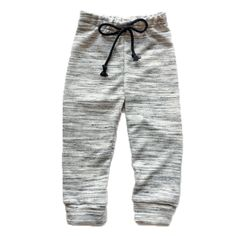 French Terry joggers, marble grey, tie front kids joggers, toddler pants, gray pants, toddler outfits, kids joggers Toddler Pants, Toddler Outfits, Joggers Outfit, Grey Tie, Gray, Organic Baby Clothes, Baby Leggings, Knit Pants, Grey Pants