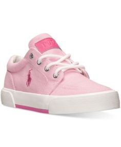 Polo Ralph Lauren Girls' Faxon Ii Casual Sneakers from Finish Line