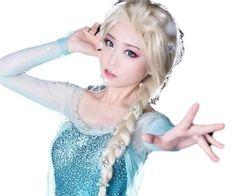 Amazon.co.jp: 【すてきコスあいてむ】 アナと雪の女王 エルサ 風 コスプレ ウィッグ 3点セット 高品質: ホビー