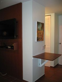 Drop down table for extra counter space when desired. - Beautifully renovated Condado Beachfront Studio -  - rentals
