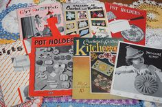 Vintage Crochet Novelty Pattern Books Lot of 7 by strangenotions  $20