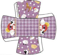 Fazendinha Menina - Kit Completo com molduras para convites, rótulos para guloseimas, lembrancinhas e imagens! - Fazendo a Nossa Festa