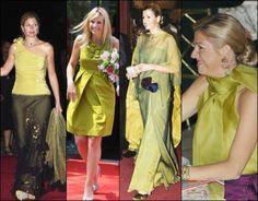 De gifgroene kleding van prinses Máxima