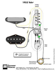 wiring diagram fender telecaster, musiikki