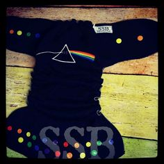 Sweet Southern Bums Pink Floyd diaper