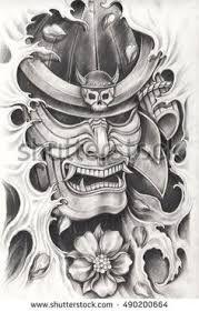 mascara samurai tattoos에 대한 이미지 검색결과