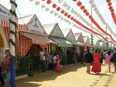 La Feria de Abril cuenta con un total de 1.040 casetas en la actualidad.