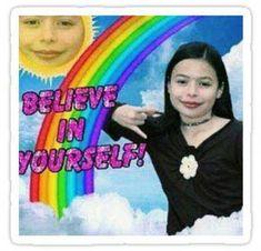 'Miranda Cosgrove' Sticker by cecestickers Miranda Cosgrove, Stupid Memes, Stupid Funny, Hilarious Memes, Memes Humor, 90s Memes, Humor Videos, Funny Humor, Reaction Pictures