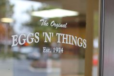 Welcome to Eggs N Things, Camarillo Established in this location in 1974