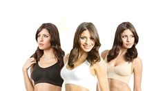 As Seen on Tv 3 Pcs/set Women's Genie Seamless Bra-white,black,nude with Removable Pads Size L - http://www.majestyasseenontv.com/as-seen-on-tv-3-pcsset-womens-genie-seamless-bra-whiteblacknude-with-removable-pads-size-l/