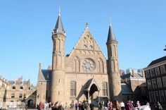 Ridderzaal in het Binnenhof in Nederland