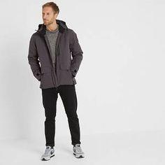 Helmsley Mens Winter Jacket - Coal Grey - S Best Ski Jacket, Thermal Jacket, Best Skis, Print Logo, Gray Jacket, Zip Ups, Winter Jackets, Normcore, Alps