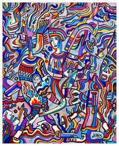Les foisonnements de couleurs et de détails de Julien Calot