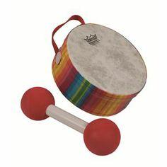 Remo Remo Lynn Kleiner HD-2005-LK Baby Drum (Remo 200923), Kids & Movement Under Age 3 Drums
