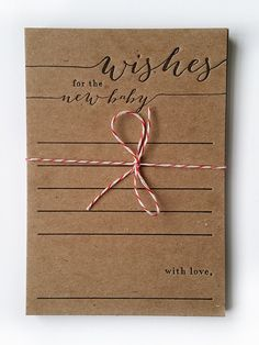 wishes for the new baby letterpress pack of by halfpintinkstudio
