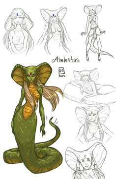 Sketch Page_Abelestas by BlackBirdInk on DeviantArt Character Concept, Character Art, Concept Art, Art Sketches, Art Drawings, Humanoid Creatures, Poses References, Creature Concept, Character Design Inspiration