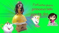FOFUPLUMA DE LA PRINCESA BELLA CON PIERNAS