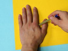 Sonnenblumen mit Handabdruck   Basteln & Gestalten Diana, Hand Prints, Sunflowers, Autumn, School, Summer