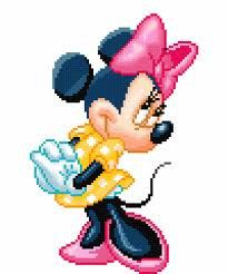 Two Disneys Minnie Mouse  Cross Stitch Patterns  by CustomPatterns, $5.00