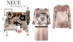 Zarte Pastelle verzaubern uns. Altrosa trifft auf kontrastreiches Schwarz. Ein Hauch von Farbe verleiht Ihrem Outfit Femininität und Eleganz. Gefunden bei Elégance Paris.