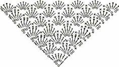 Crochet Patterns Shawl Patterns for Scarves Scheme: 26 Thousands of Images … Poncho Crochet, Crochet Shawl Diagram, Bonnet Crochet, Crochet Diy, Crochet Shawls And Wraps, Crochet Chart, Crochet Scarves, Crochet Doilies, Crochet Clothes