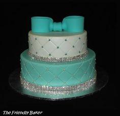 Blue Girl Birthday Cakes cakepins.com