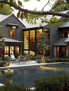 Nice 65 Modern Farmhouse Exterior Design Ideas https://idecorgram.com/11981-65-modern-farmhouse-exterior-design-ideas