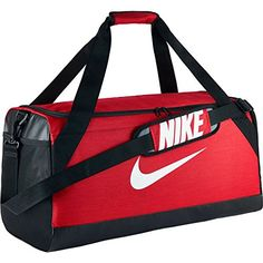 2b9c4c0031 The Nike™ Brasilia Medium Duffel Bag features a ventilated shoe compartment  and a padded shoulder strap.
