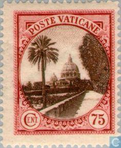 Vatican City - Pope Pius XI 1933