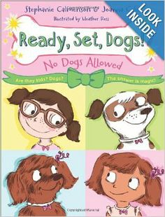 No Dogs Allowed (Ready, Set, Dogs!): Stephanie Calmenson, Joanna Cole, Heather Ross: 9780805096453: Amazon.com: Books