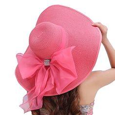 Women's Summer Wide Brim Beach Hats Sexy Chapeau Large Floppy Sun Caps (Pink(3)) 30th floor http://www.amazon.com/dp/B01DDE57W0/ref=cm_sw_r_pi_dp_KaF.wb1X0E9JS