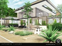 The Sims Resource: Japanese Luxury by Pralinesims • Sims 4 Downloads
