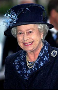 Queen Elizabeth, January 27, 2005in Angela Kelly   Royal Hats