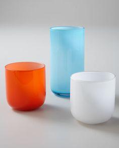 """Pop"" Glassware by Jonathan Adler at Neiman Marcus."