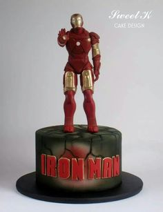 Ironman cake  this is what I am going to make