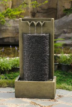 Large Outdoor Wall Fountains Design Ideas 23