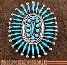 Zuni Turquoise Pendant