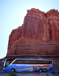 Courthouse Tower, Arches National Park Setra S417 Touring Coach
