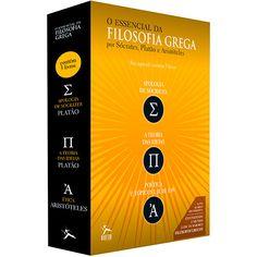 Americanas Box de Livros - O Essencial da Filosofia (3 Volumes) - R$17,90