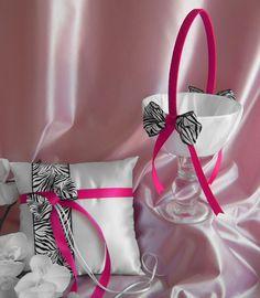 Zebra Print Wedding Accessories
