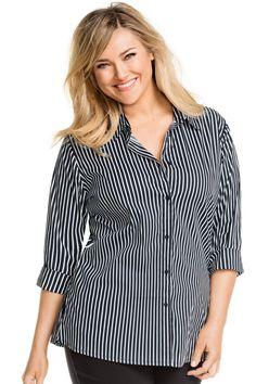Buy Sara Poplin Shirt | Shop at EziBuy AU