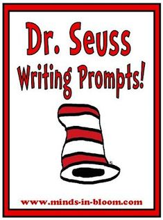 We all love Dr. Seuss, especially kids! So, what would they love more than being encouraged to write like one of their favorite authors? These 20 fun Dr. Seuss themed writing prompts will get your students thinking like Dr. Seuss and coming up with creati Dr. Seuss, Dr Seuss Week, Writing Lessons, Teaching Writing, Student Teaching, Writing Prompts, Writing Ideas, Teaching Ideas, Poetry Prompts
