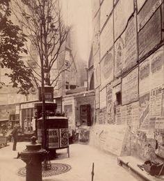 Ces photos qui font revivre le Paris d'autrefois : angle de la rue St-Séverin et St-Jacques (v° arrondissement) en 1899