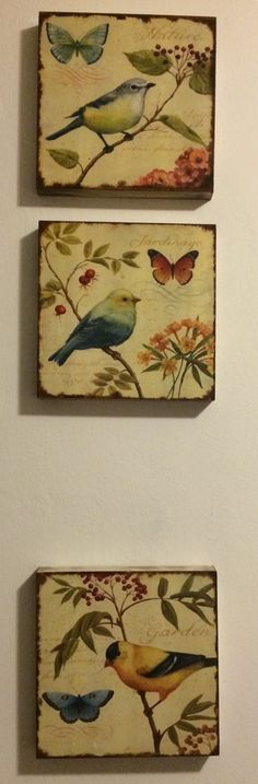 Cozy Cottage, Cottage Living, Arte Country, Wall Hanger, Wall Decor, Creative, Handmade, Paintings, Popular