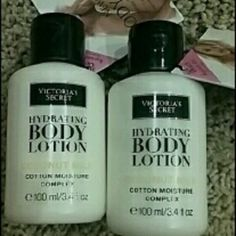 VS Hydrating Coconut Milk Lotion Travel Size Brand new. Two 3.4fl oz Coconut Milk Hydrating Body Lotions from the new collection. Victoria's Secret Other