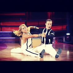 Shawn Johnson & Derek Hough